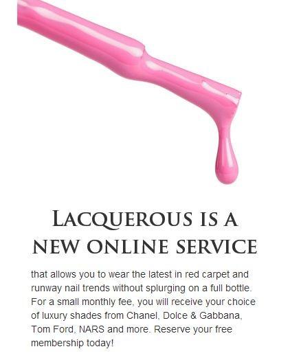 lacquerous